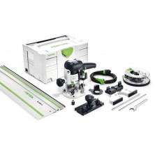 Festool Horní frézka OF 1010 EBQ-Set + Box-OF-S 8/10x HW 574384