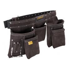 STANLEY kožené opaskové pouzdro na nářadí a hřebíky STST1-80113